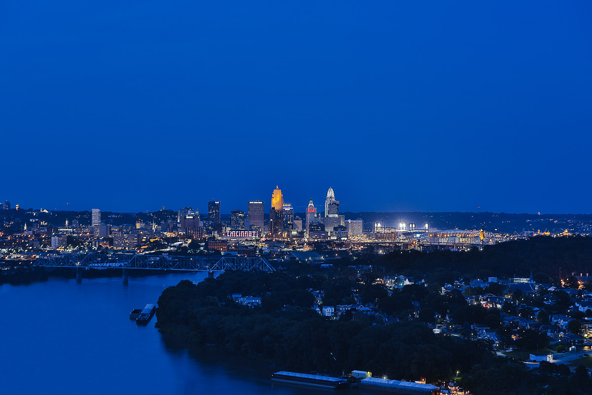 Cincinnati from Mt. Echo Park